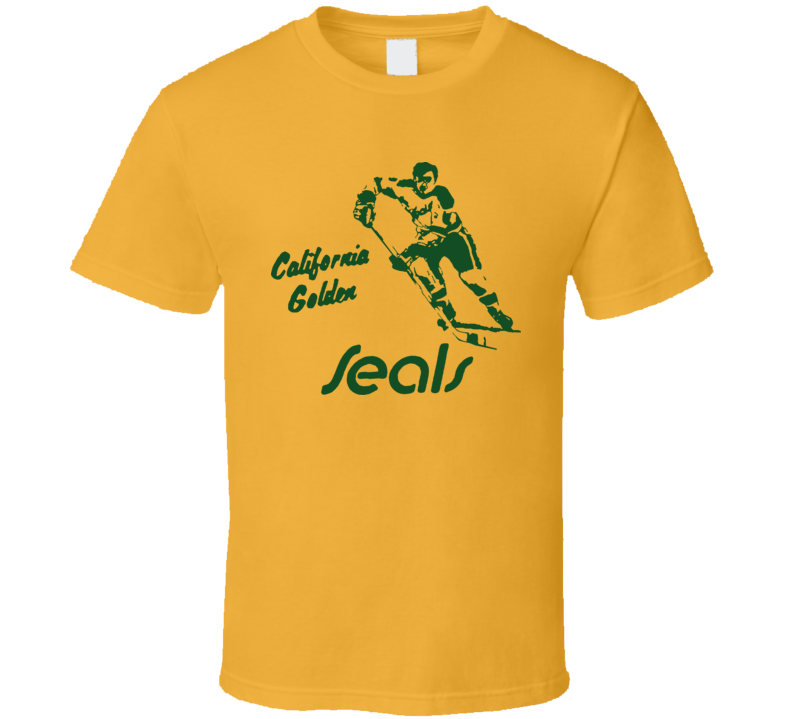 California Golden Seals 1967 Hockey T Shirt