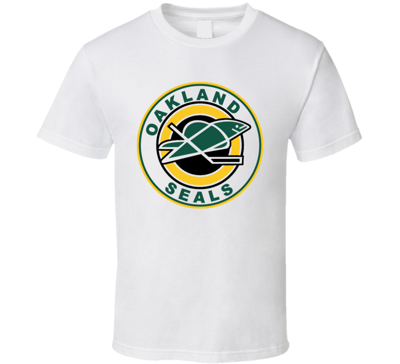 California Oakland Seals Hockey Logo T Shirt