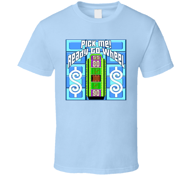 Contestant Game Show Wear - Pick Me T Shirt