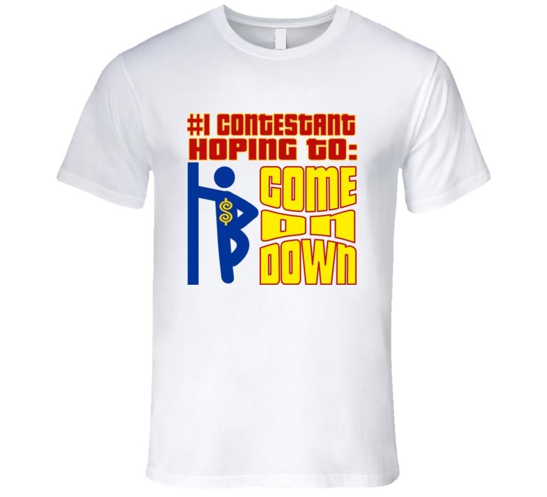 Contestant Game Show Designer Shirt
