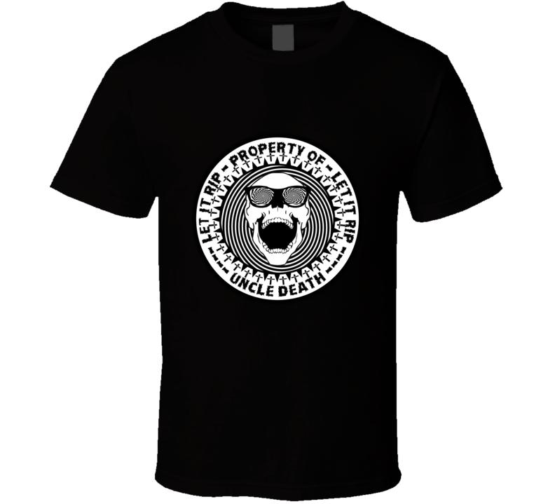 Property of Uncle Death Let It Die T Shirt