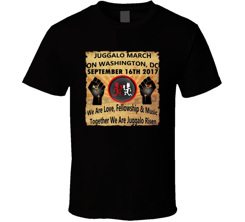 Juggalo March On Washington DC 9-16-17 Tshirt