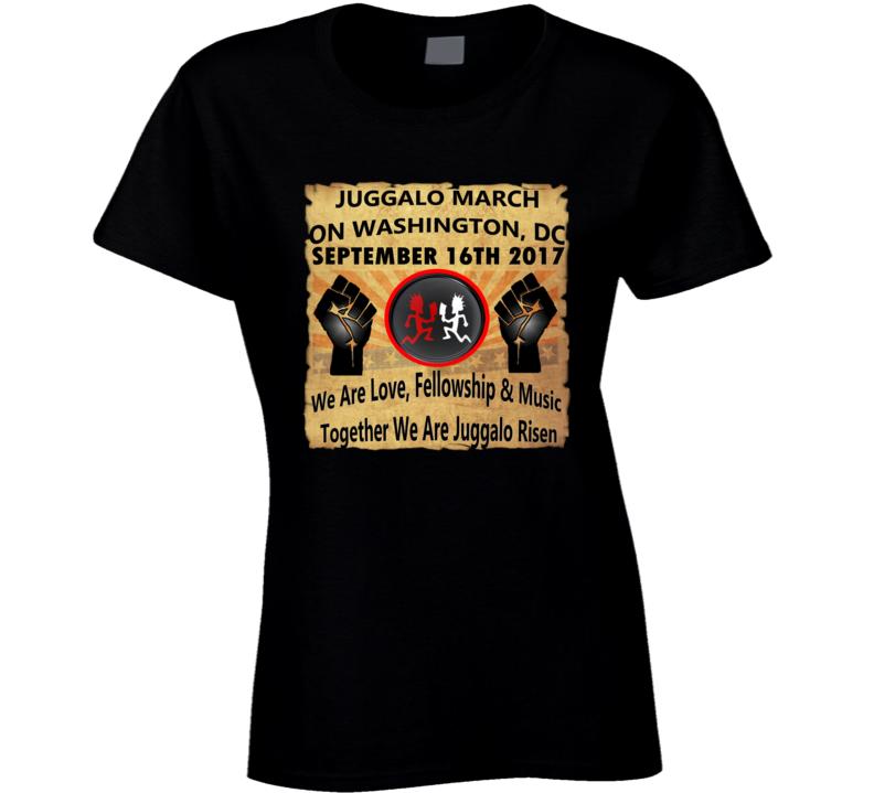 Juggalo March on Washington, DC 9-16-17 Tshirt