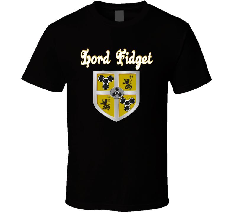 Fidget Spinner - Lord Fidget Spins T Shirt