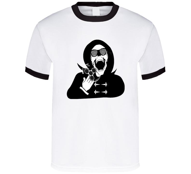 Fidget Spinner Grim Reaper T Shirt