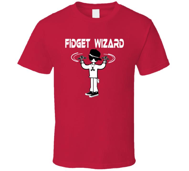 Fidget Spinner - Fidget Wizard T Shirt