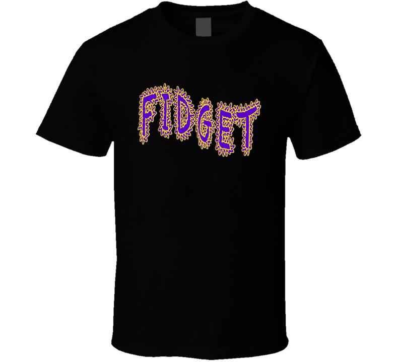 Fidget Spinner - Fidget Logo T Shirt