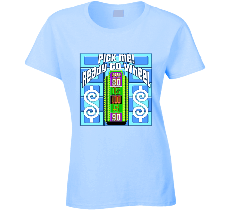 The Lucky Contestant Design T Shirt Price Is Right For Your Event! Ladies 1-18