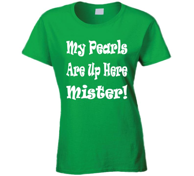 Fiesta Pearl.com Party T Shirt Ladies