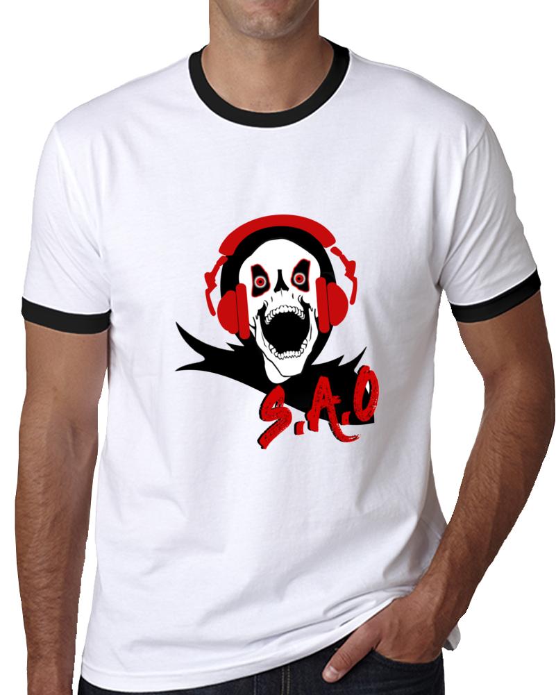Sao - Strike Aim Overcome Gamer Tee T Shirt