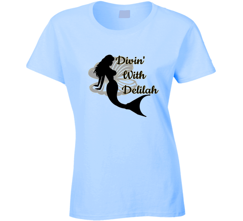 Divin With Delilah T Shirt