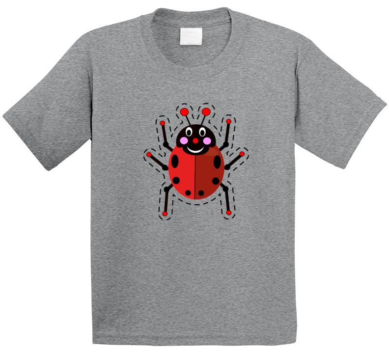 Cuteedoll.com - Ladybug Sew Cut & Stuff Shirt