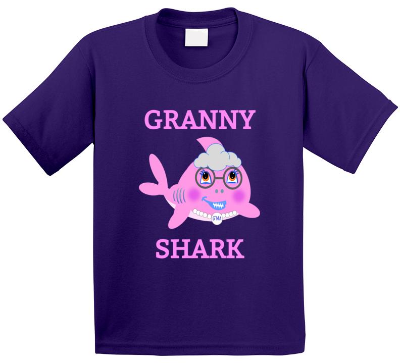 Cuteedoll.com Babyshark Granny T Shirt