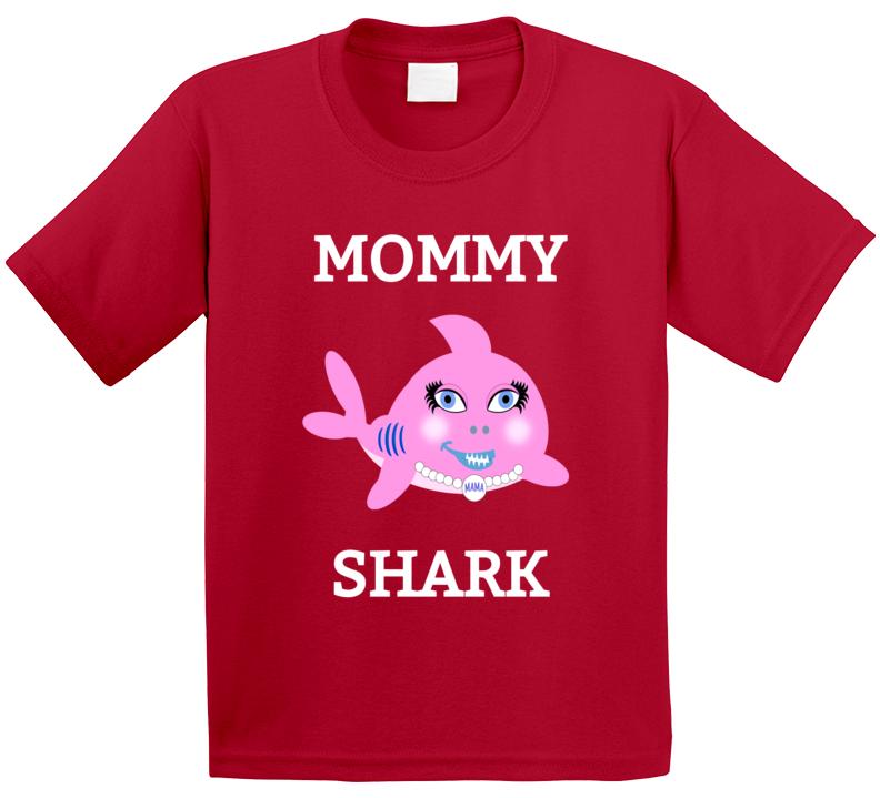 Cuteedoll.com Babyshark Mommy T Shirt