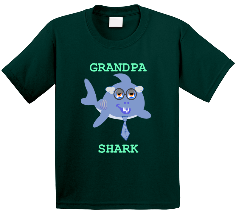 Cuteedoll.com Babyshark Grandpa Shark T Shirt