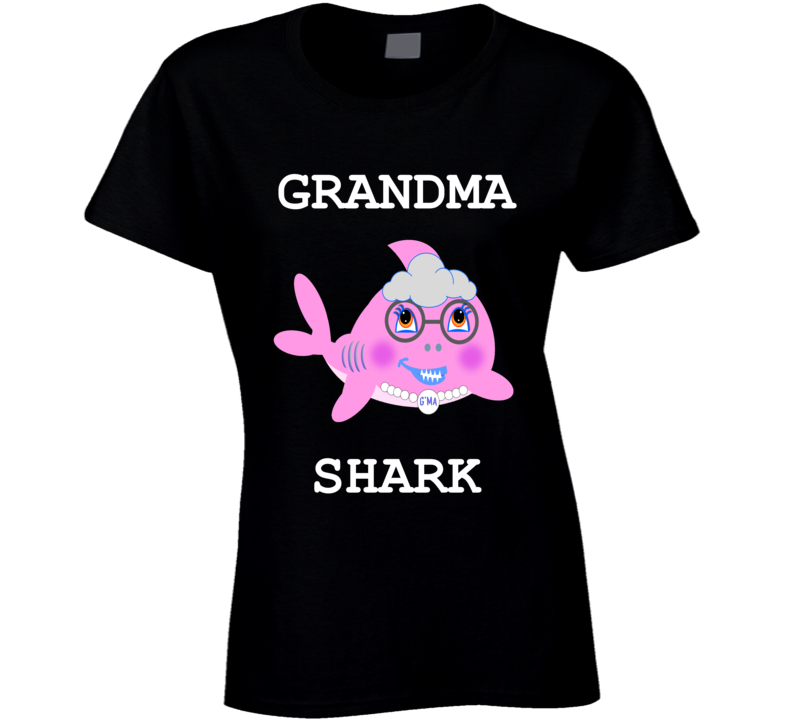 Cuteedoll.com Babyshark Grandma Shark Adult T Shirt