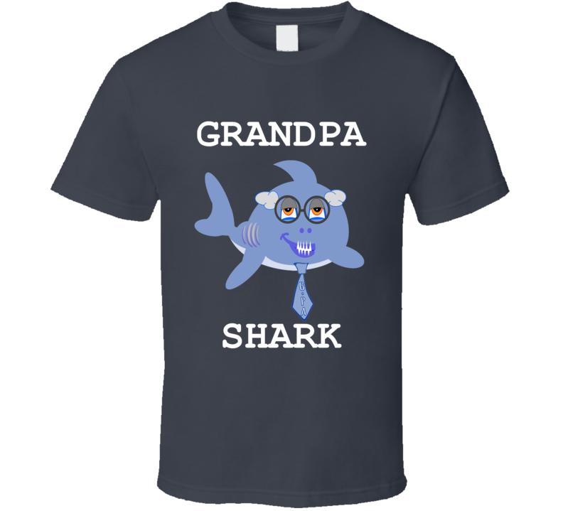 Cuteedoll.com Babyshark Grandpa Shark Adult T Shirt