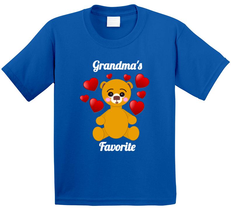 Cuteedoll.com Grandma's Favorite T Shirt