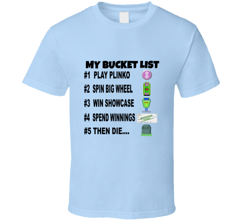 The Price Is Right Designer Contestant Tshirt Tpir