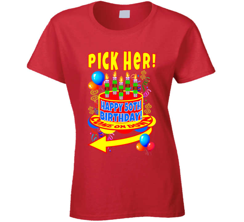 The Price Is Right Game Show Contestant Designer Ladies T Shirt Tshirt