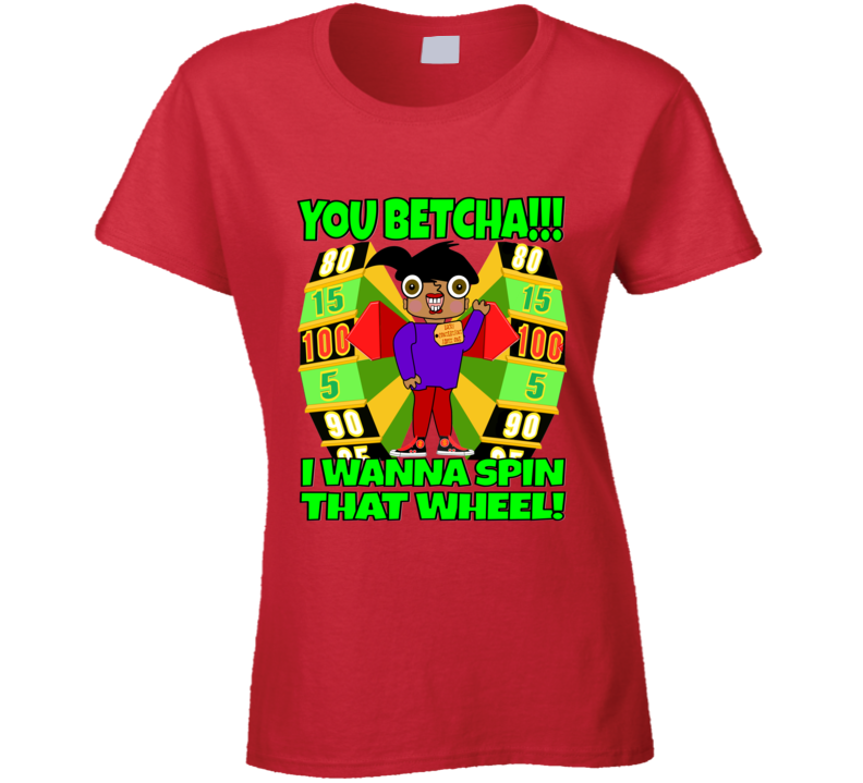 The Price Is Right Game Show Designer Contestant  Tshirt Ladies T Shirt