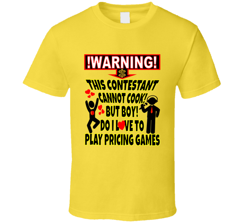The Price Is Right Game Show Designer Contestant Classic Tshirt T Shirt