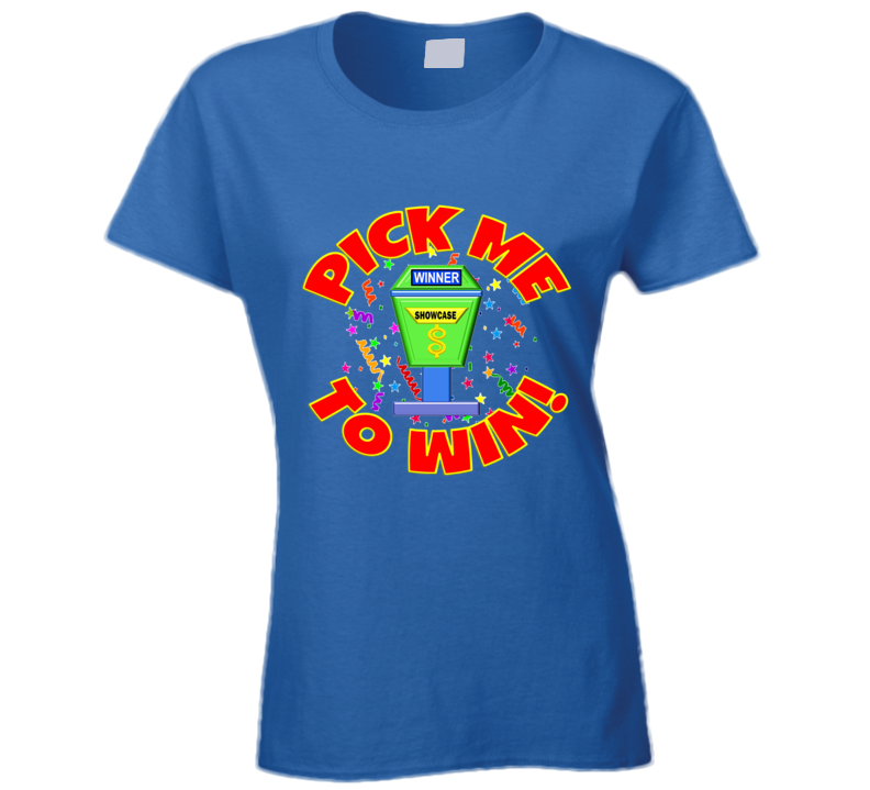 The Price Is Right Game Show Contestant Designer Men Ladies T Shirt