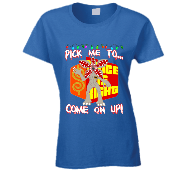 The Price Is Right Game Show Contestant Designer Ladies T Shirt