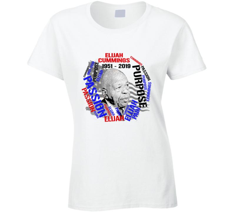 Tribute To E. Cummings Ladies T Shirt