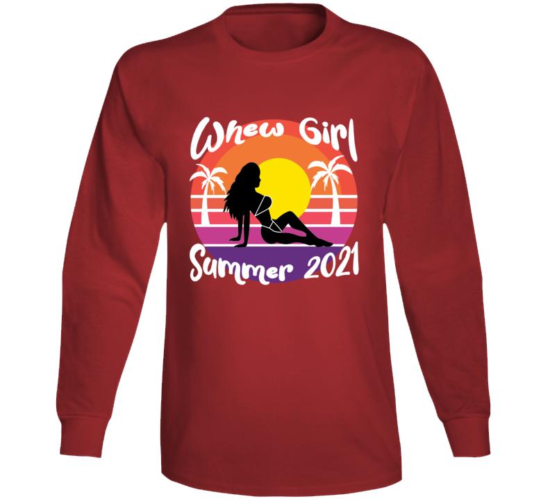 Whewgirl Summer 2021 Tee Long Sleeve T Shirt