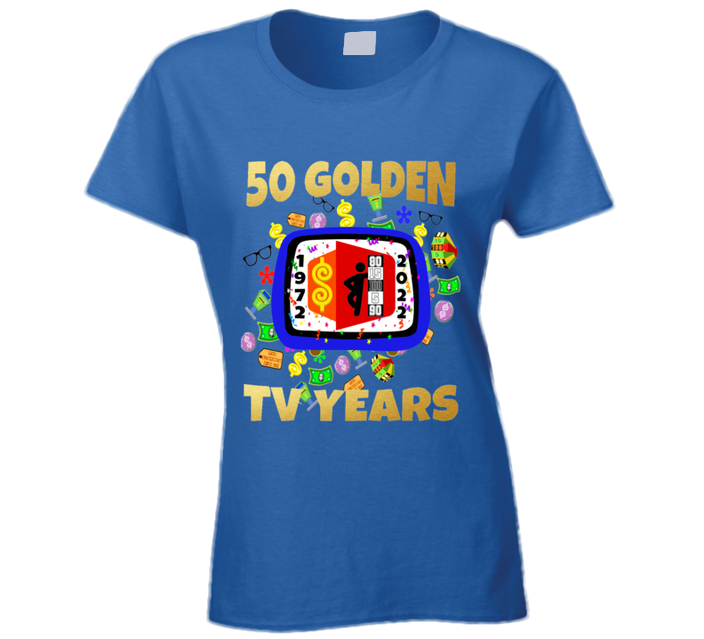 The Price Is Right 50 Golden Years Ladies T Shirt