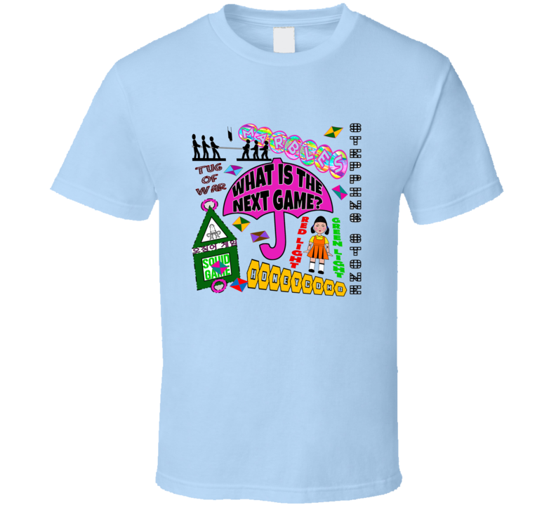 Squid Player Game Fan Art - Tv Game Show Contestant - Tpir (the Price Is) T Shirt