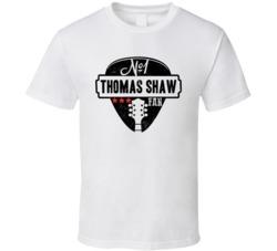 Number One Thomas Shaw Legendary Guitarist Bass Guitar Player Fan T Shirt