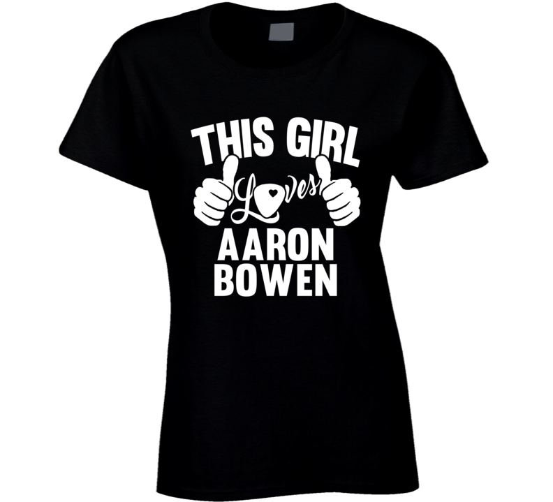 Aaron Bowen Best Guitarist Music Electrical Classical Bass This Girl Loves T Shirt