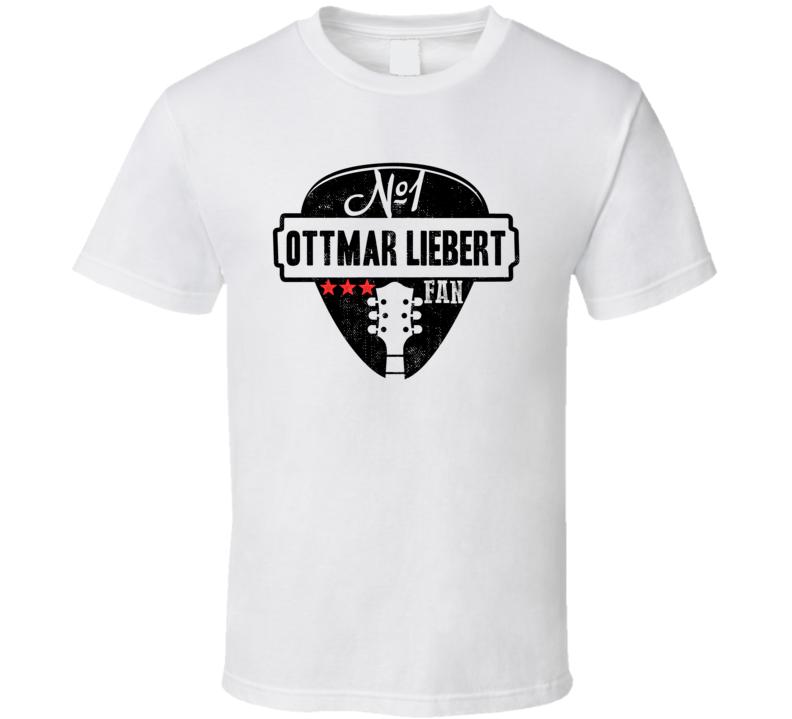 Number One Ottmar Liebert Legendary Guitarist Bass Guitar Player Fan T Shirt