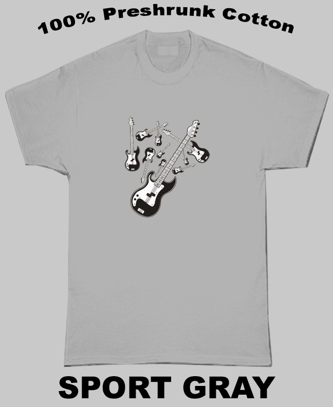 Guitar War T Shirt