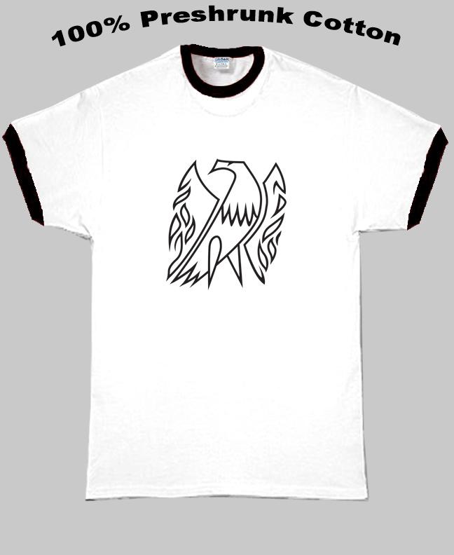 Gibson Firebird Guitar Company Logo T Shirt