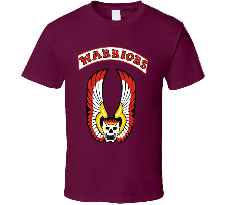 The Warriors Gang Vest Logo Retro Movie Fan Costume T Shirt