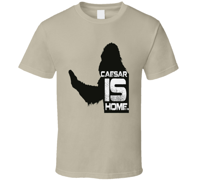 Caesar Is Home Planet Of The Apes Movie Marco T Shirt
