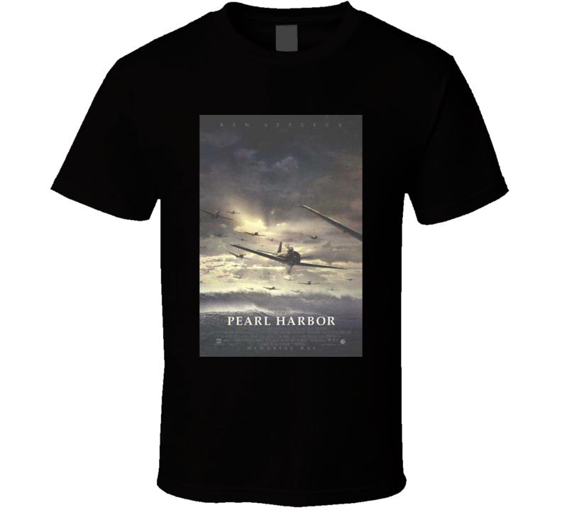 Kate Beckinsale Ben Affleck Josh Hartnett 2001 Pearl Habor Cool Movie Poster Fan T Shirt