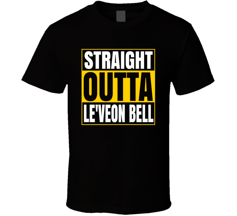 Straight Outta Le'veon Bell Pittsburgh T Shirt