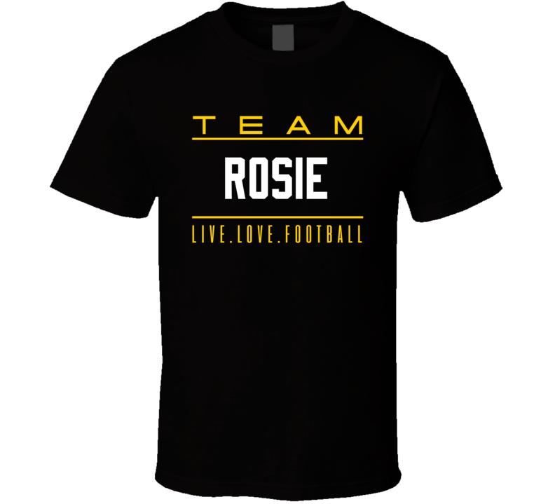 Team Rosie Roosevelt Nix Pittsburgh T Shirt