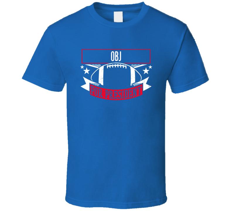 Odell Beckham Jr For President New York T Shirt
