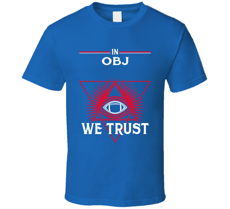 In Odell Beckham Jr We Trust New York T Shirt