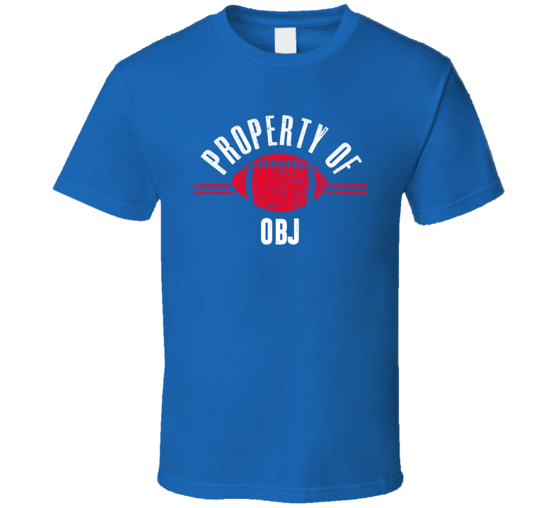 Property Of Odell Beckham Jr New York T Shirt