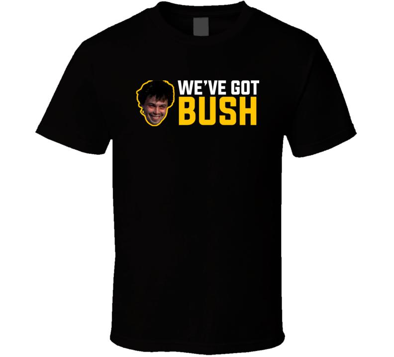 Revenge Of The Nerds Parody We've Got Bush Pittsburgh Football T Shirt