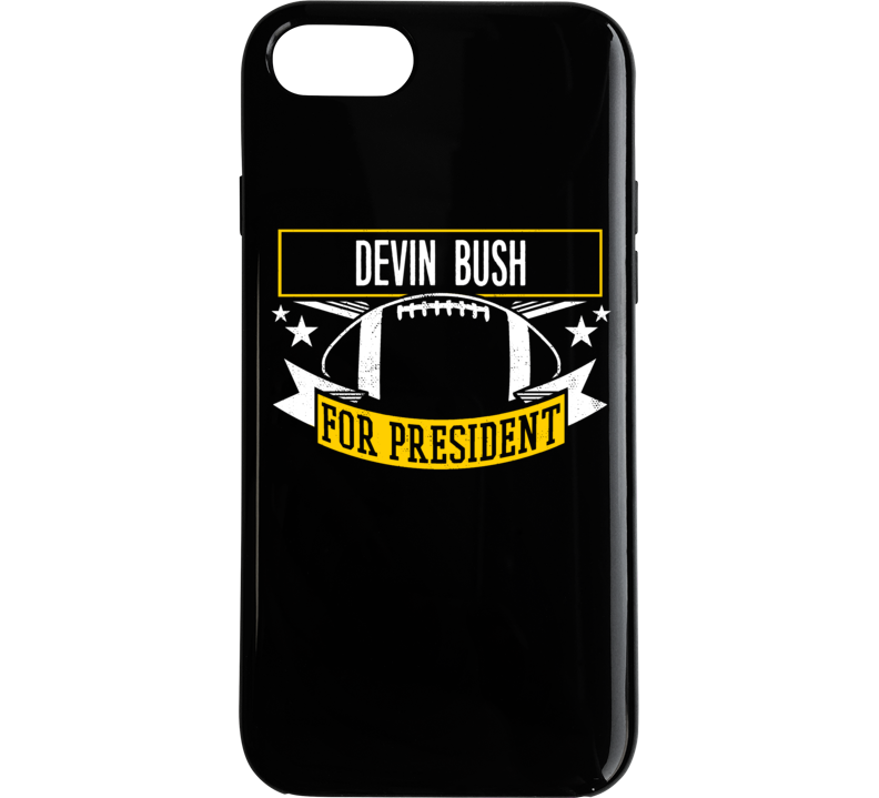Devin Bush For President Football Pittsburgh Phone Case