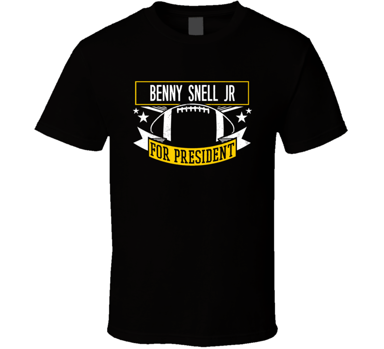 Benny Snell Jr For President Pittsburgh Football T Shirt