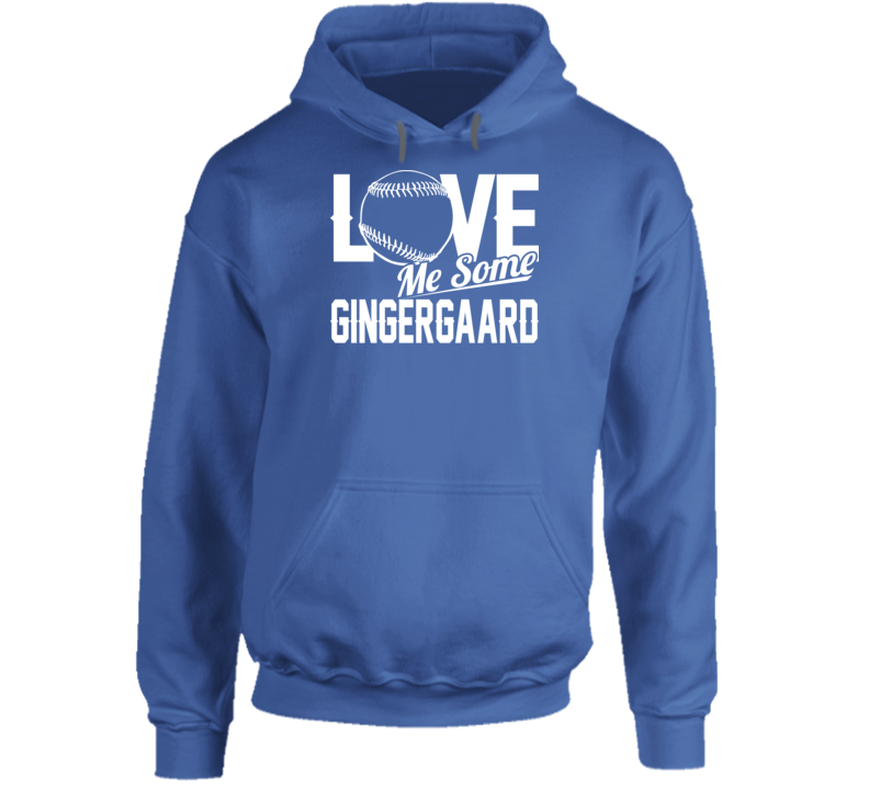 Love Me Some Gingergaard Los Angeles Baseball Dustin May Hoodie