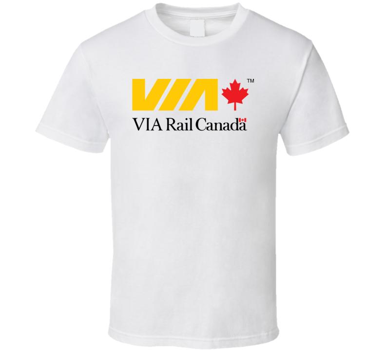 Via Rail Canada Logo T Shirt